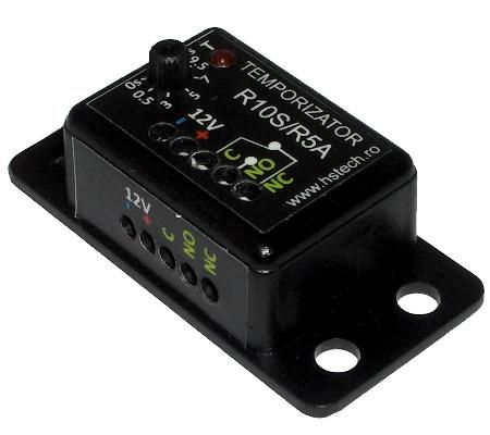 Temporizator 12V, cu releu 5A Image